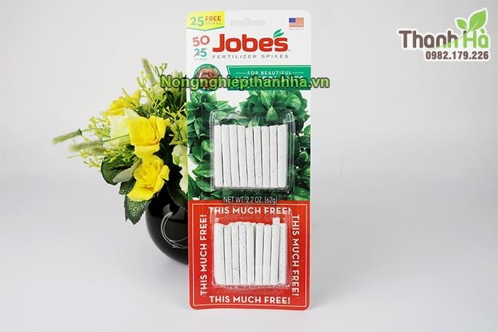 Phân tan chậm Jobes dạng que nhập khẩu Mỹ